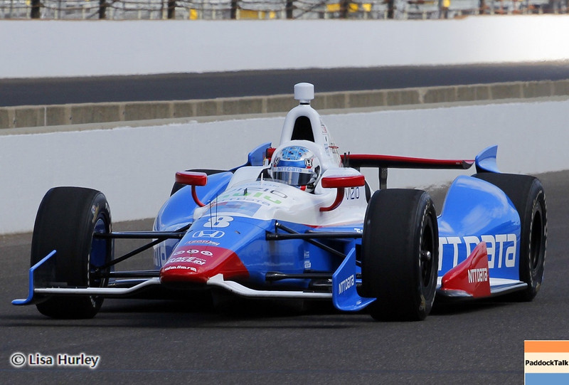 May 24: Ryan Briscoe during Carburetion Day before the 97th Indianapolis 500 at the Indianapolis Motor Speedway