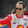 May 24: Helio Castroneves during Carburetion Day before the 97th Indianapolis 500 at the Indianapolis Motor Speedway