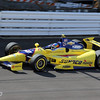 May 19: Townsend Bell during qualifications for the 97th Indianapolis 500 at the Indianapolis Motor Speedway