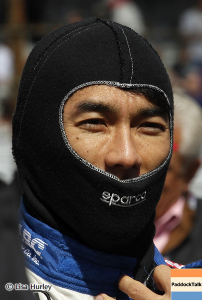 May 24: Takuma Sato during Carburetion Day before the 97th Indianapolis 500 at the Indianapolis Motor Speedway