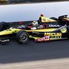 May 19: Oriol Servia during qualifications for the 97th Indianapolis 500 at the Indianapolis Motor Speedway