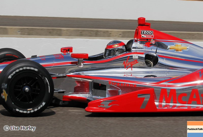 May 24: Sebastien Bourdais during Carburetion Day before the 97th Indianapolis 500 at the Indianapolis Motor Speedway