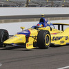 May 24: Townsend Bell during Carburetion Day before the 97th Indianapolis 500 at the Indianapolis Motor Speedway