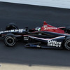 May 19: Michel Jourdain Jr. during qualifications for the 97th Indianapolis 500 at the Indianapolis Motor Speedway