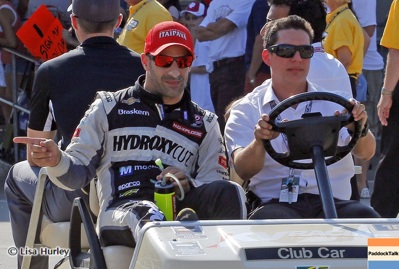 May 19: Tony Kanaan during qualifications for the 97th Indianapolis 500 at the Indianapolis Motor Speedway