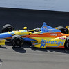 May 19: Ana Beatriz during qualifications for the 97th Indianapolis 500 at the Indianapolis Motor Speedway