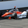 May 19: Katherine Legge during qualifications for the 97th Indianapolis 500 at the Indianapolis Motor Speedway