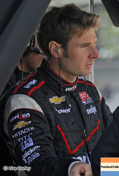 May 24: Will Power during Carburetion Day before the 97th Indianapolis 500 at the Indianapolis Motor Speedway