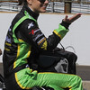 May 24: Katherine Legge during Carburetion Day before the 97th Indianapolis 500 at the Indianapolis Motor Speedway