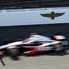May 19: AJ Allmendinger during qualifications for the 97th Indianapolis 500 at the Indianapolis Motor Speedway