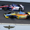 May 19: Takuma Sato and Ana Beatriz during qualifications for the 97th Indianapolis 500 at the Indianapolis Motor Speedway
