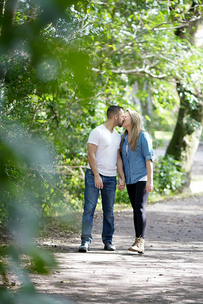 LisaMarie and Nick Engagement Shoot!! Tree Tops Park!