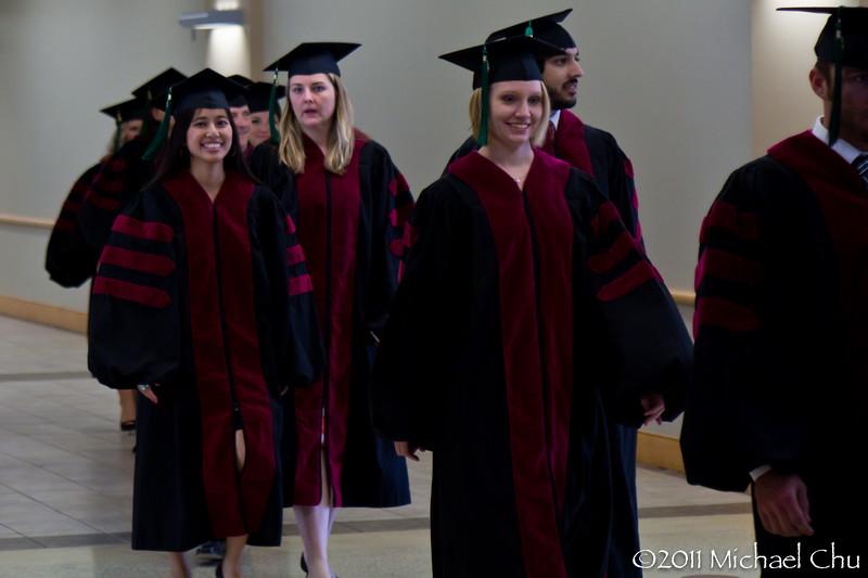 The Graduates walking - 1