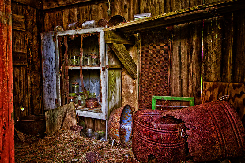 Old barn storage