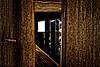 Old barn peep hole