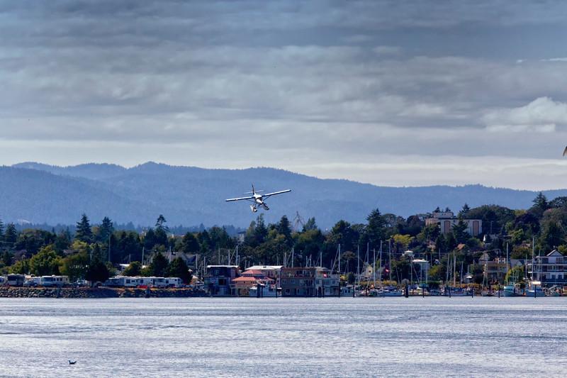 Float Plane landing - Victoria B.C.