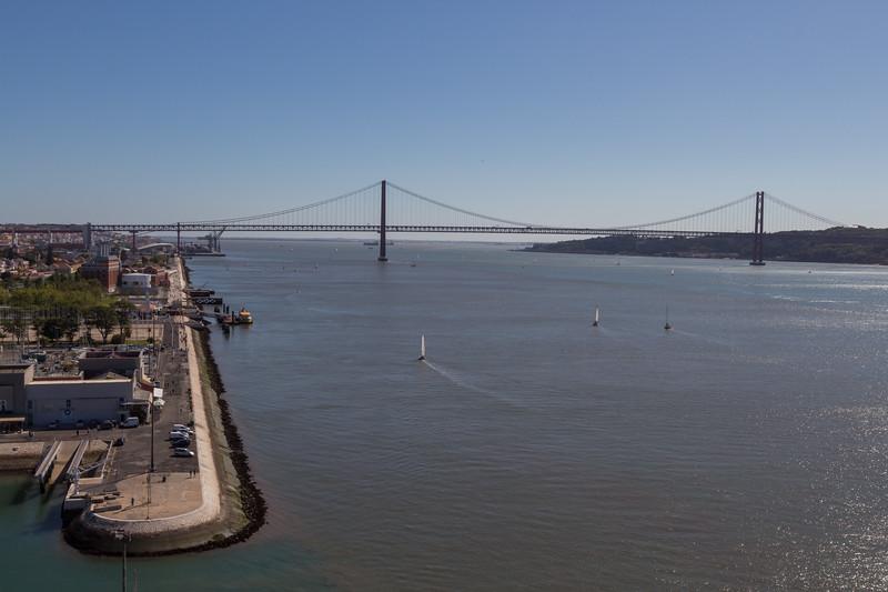 Vistas al Puente 25 de Abril