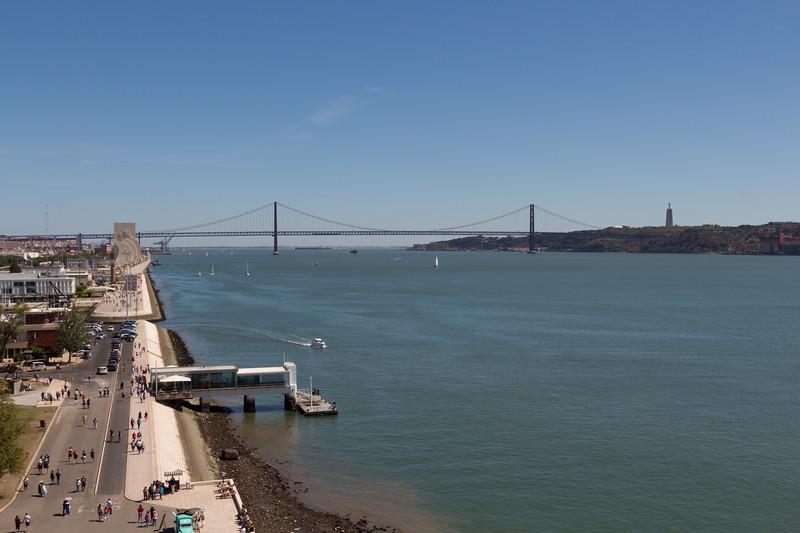 Vistas desde la Torre de Belém