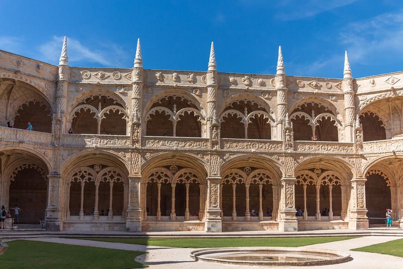 Claustro del Monasterio de los Jerónimos de Belém
