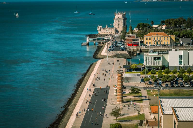 Torre de Belém y faro de Belém