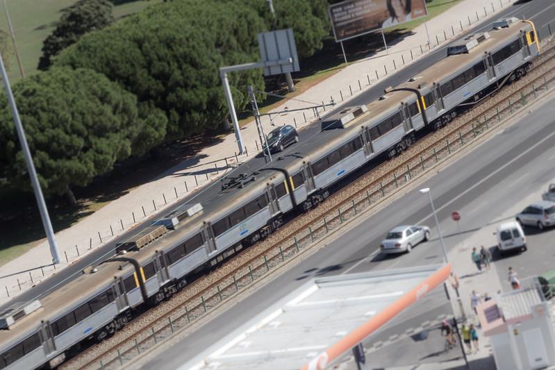 Tren a Lisboa