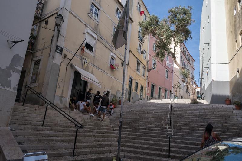 Rua dos Corvos