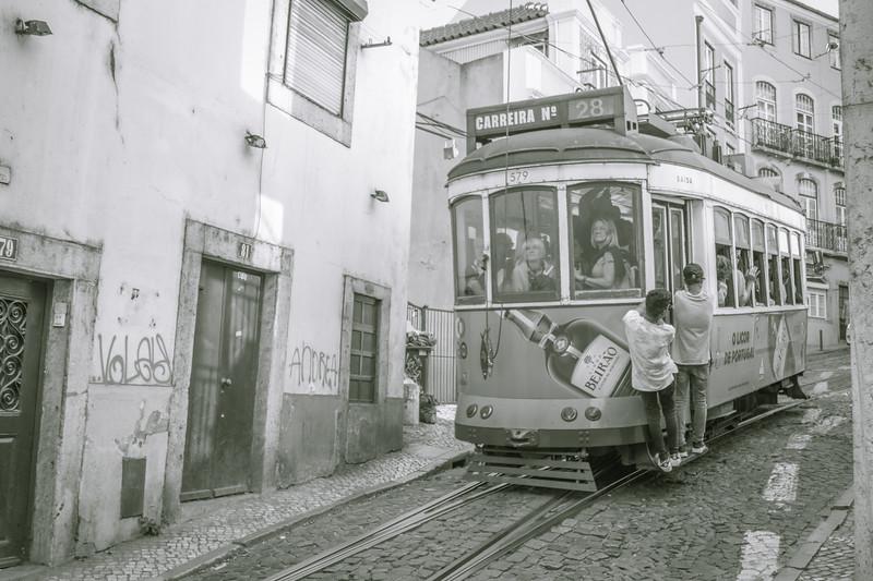Calçada de São Vicente, tranvía 28