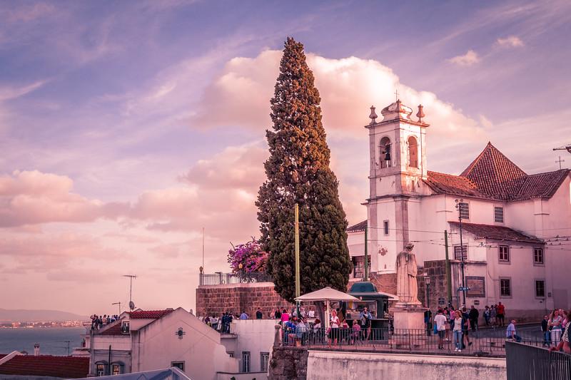 Iglesia  y Mirador de Santa Lucia