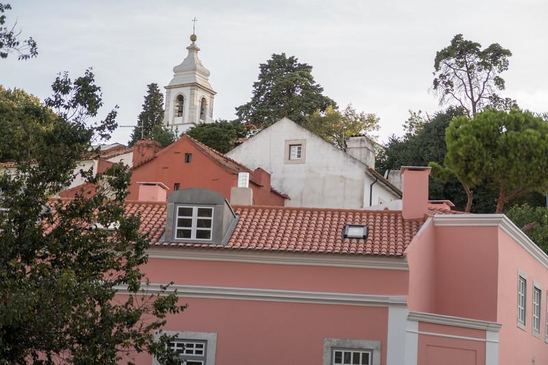 Vista hacia el Castillo