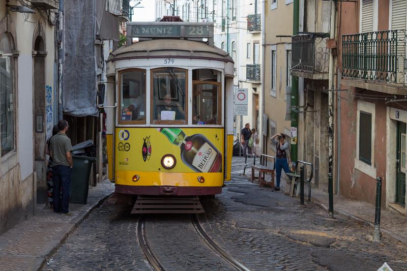 Calçada de São Vicente. Tranvía 28