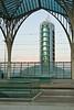 Torre de San Gabriel desde la estación