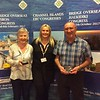 Lisbon 2017, Mixed Pairs winners - Sandy Davies & Warner Solomon  (with Hannah Williams from Bridge Overseas)