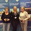 Lisbon 2017, Women's Pairs winners - Pauline Cohen & Elizabeth Barnard  (with Hannah Williams from Bridge Overseas)