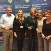 Lisbon 2017, Pivot Teams winners - Malcolm Lewis, Nicky Adamson, Elizabeth Barnard,  Pauline Cohen  (with Hannah Williams from Bridge Overseas)