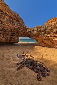 Praia De Norte Arch Vertical