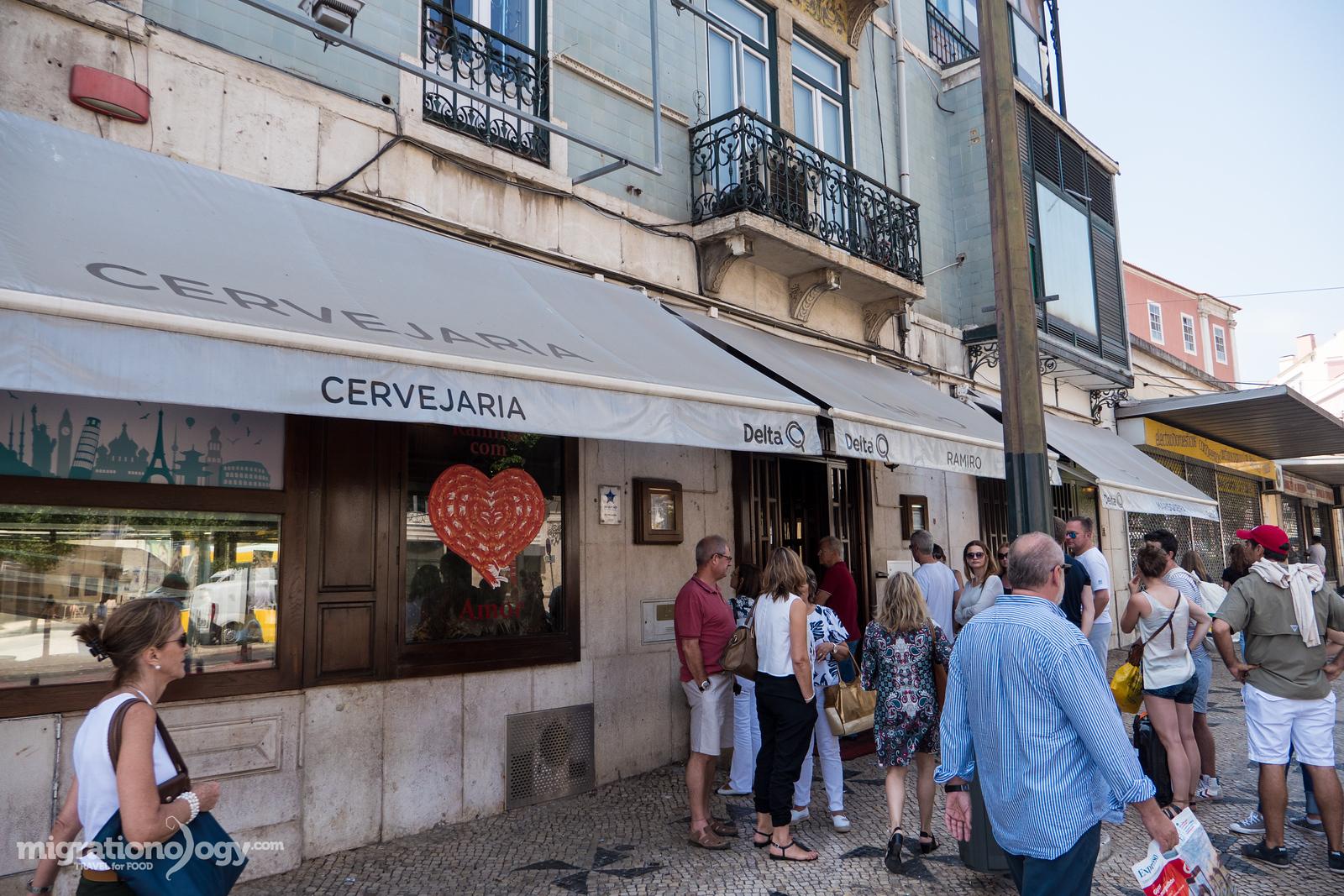 Cervejeria Ramiro Restaurant Must Eat Seafood In Lisbon Portugal