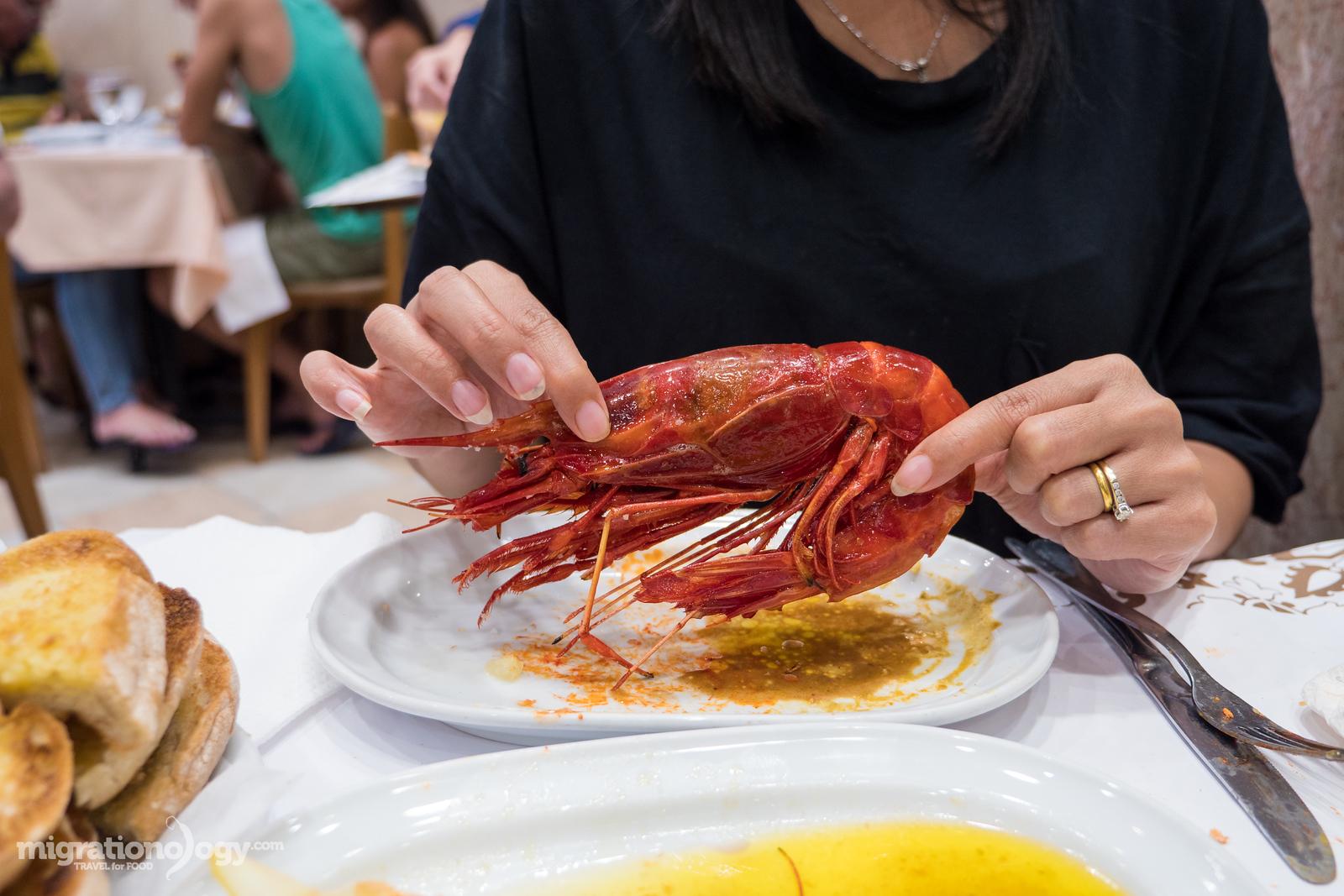 best seafood in Lisbon, Portubal