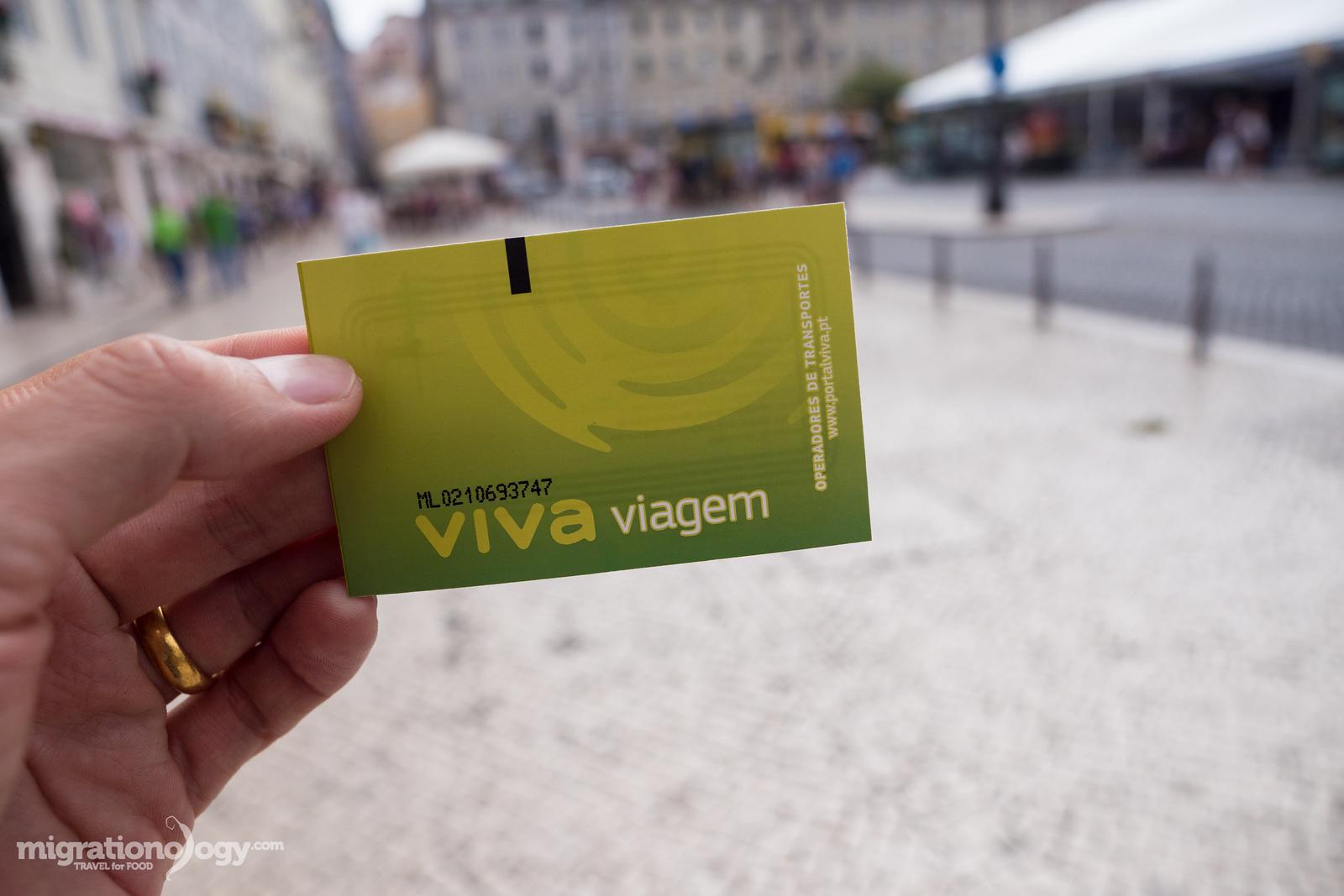 Viva Viagem card