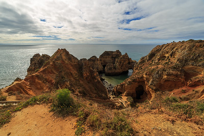 Ponta Da Piedade - From Above