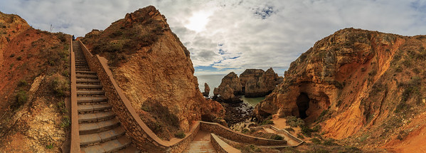Ponta Da Piedade - Stairway to Heaven Panoramic