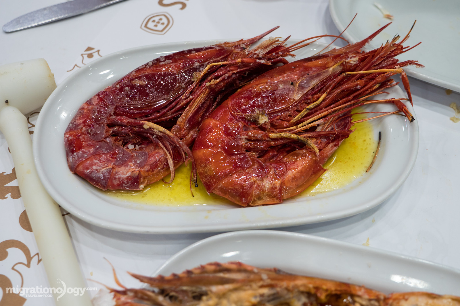 what are scarlet prawns