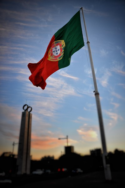 Largest Portuguese Flag in the World. 2010.