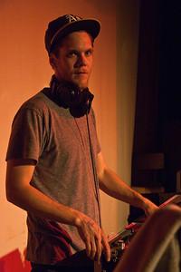 DJ Marlin  Denman Island, April 10th, 2009