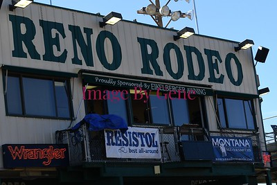 Lita Scott Reno Rodeo Barrel Race RFD TV's American Rodeo Qualifier June 29th. 2019