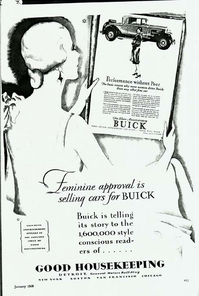 USA - Good Housekeeping ad - featuring 29 Buick ad