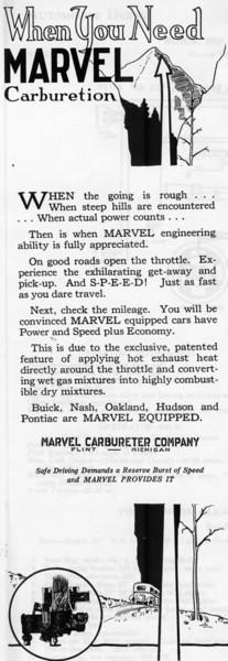 USA - Marvel Carb. ad