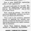 USA - Marvel Carb. ad