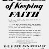 USA - 25 Years of keeping the faith