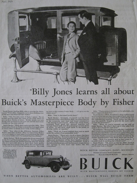 "USA - One of the ""Billy"" series ads (# 8)"