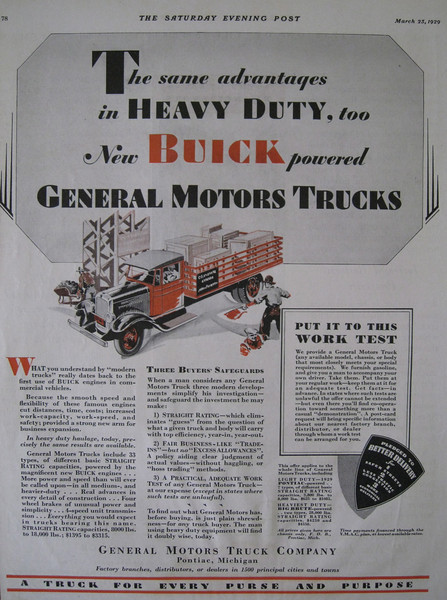 USA - Powered by Buick truck Ad #4